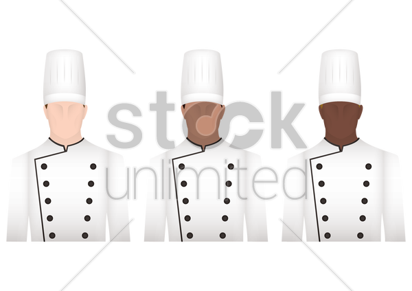 chefs vector graphic