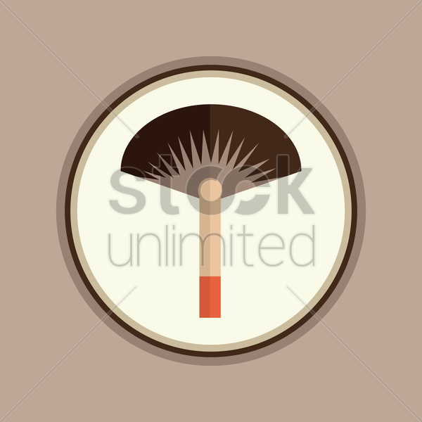 Free chinese hand fan vector graphic