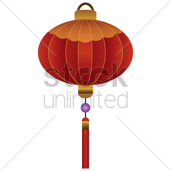 Chinese new year traditional lantern Vector Image ...