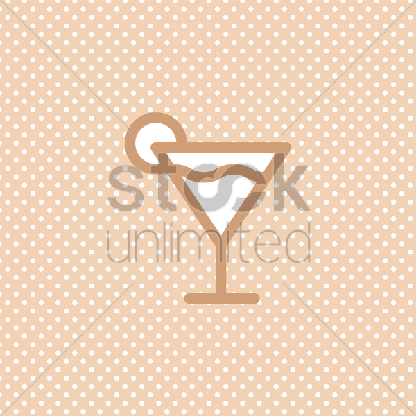 cocktail vector graphic