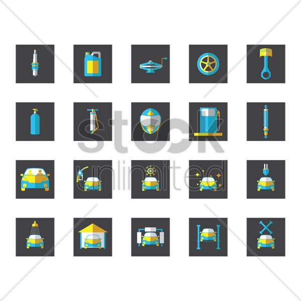Free collection of automobile and cars vector graphic