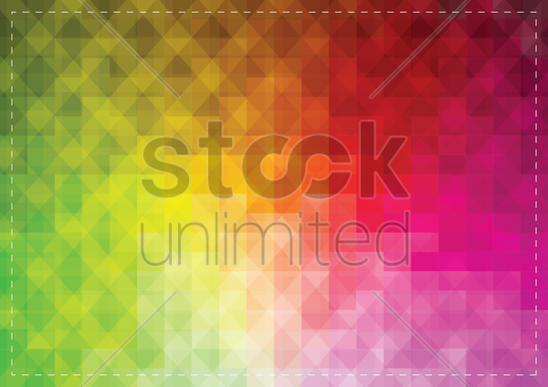 Free colorful faceted background vector graphic