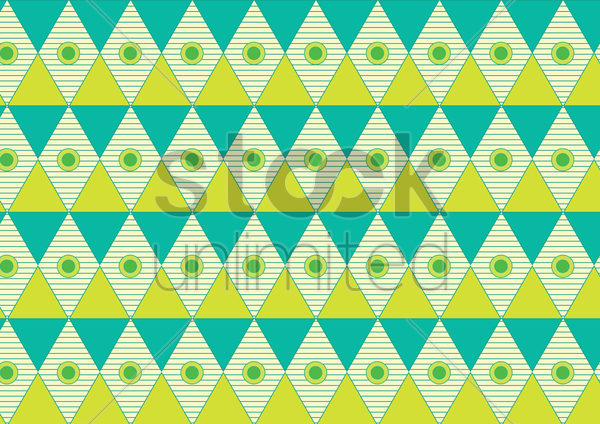 colorful seamless triangle pattern vector graphic