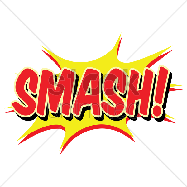 comic bubble smash vector image 1708163 stockunlimited word bubble clipart word bubble clipart free