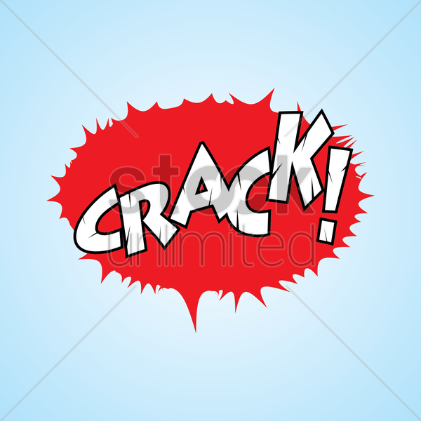 comic effect crash vector graphic