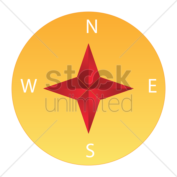 compass vector graphic