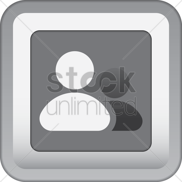 contacts icon vector graphic
