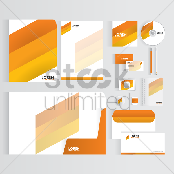 Free corporate identity vector graphic