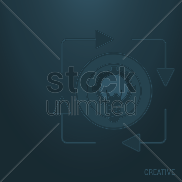 creative background vector graphic
