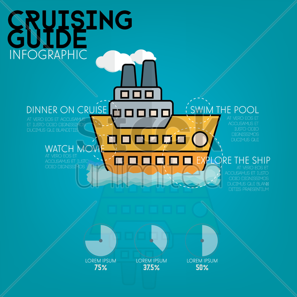 crusting guide infographic vector graphic