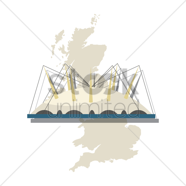 dartford crossing vector graphic