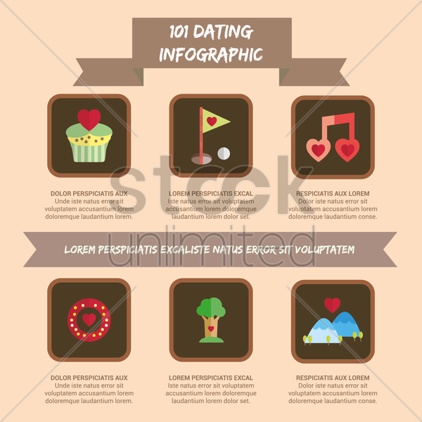 dating menu vector graphic