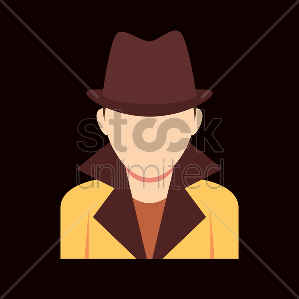Free detective vector graphic
