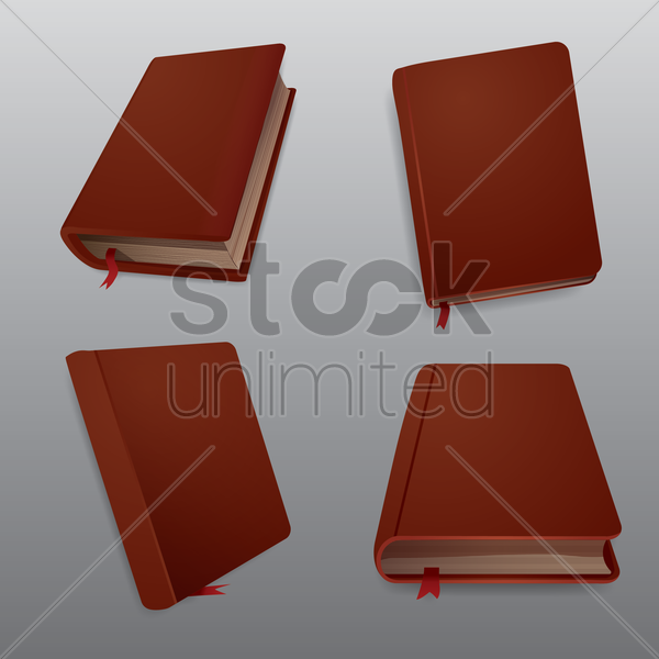 diary collection vector graphic