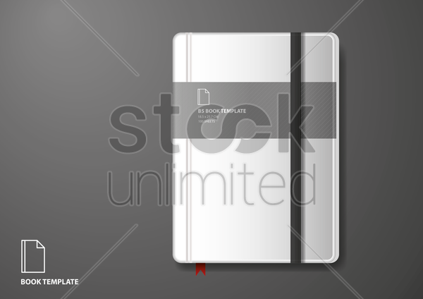 diary vector graphic