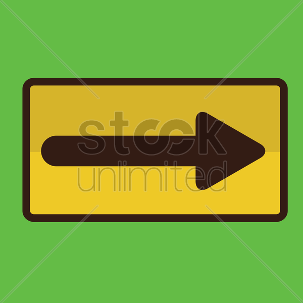 directional road sign vector graphic