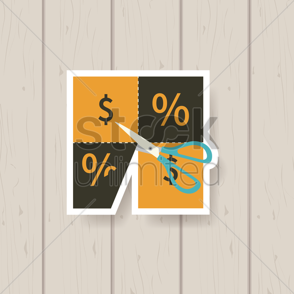 discount label vector graphic