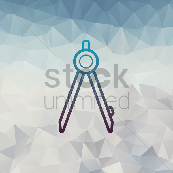divider tool vector graphic
