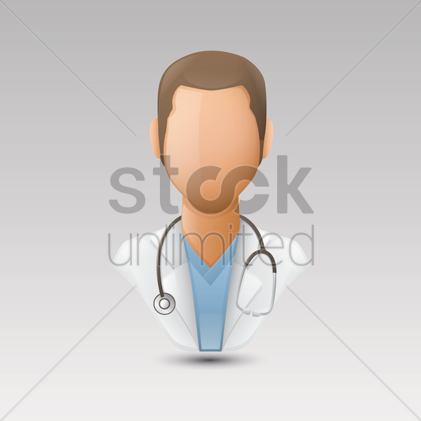 Free doctor vector graphic