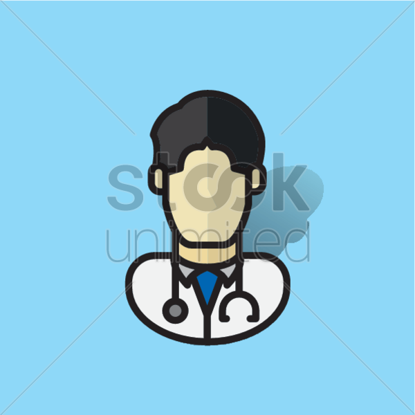 doctor vector graphic