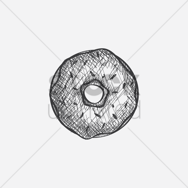 doughnut vector graphic