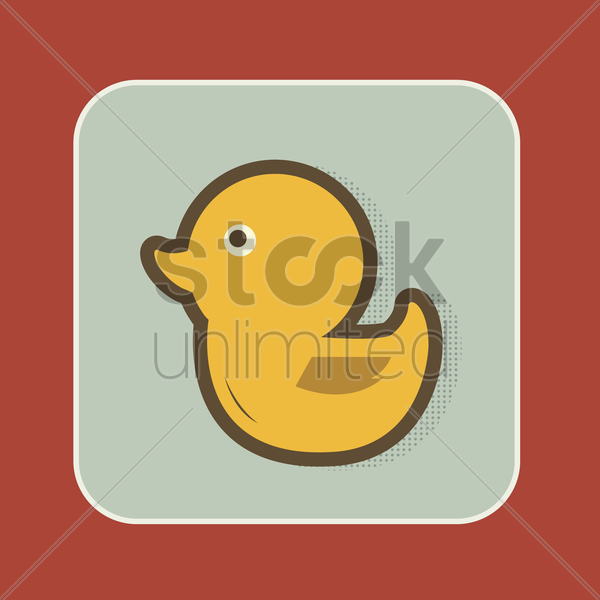 Free duck vector graphic