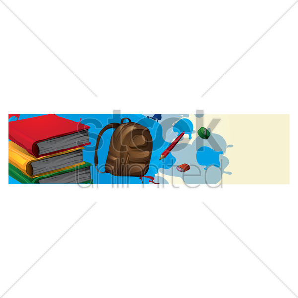 education banner vector graphic