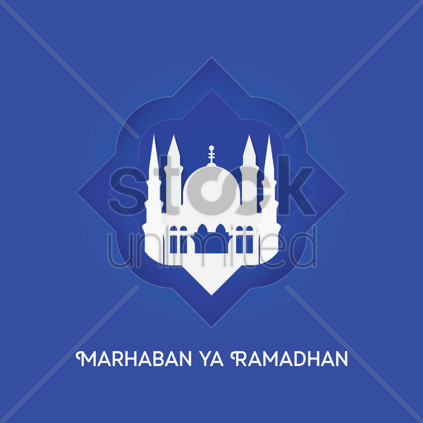 eid festival greeting vector graphic