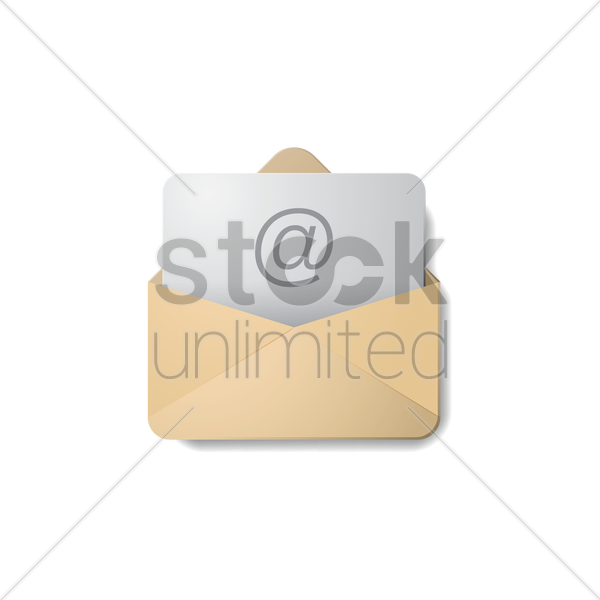 email icon vector graphic