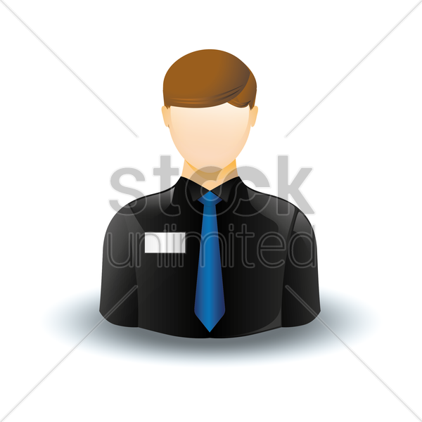 Free employee vector graphic
