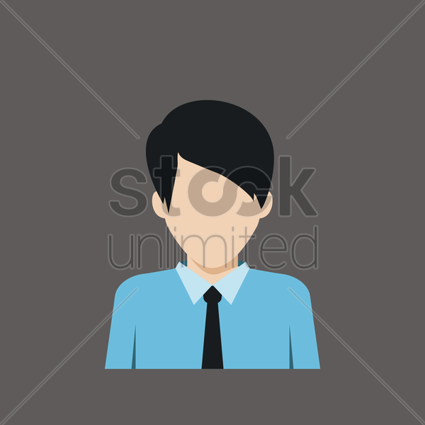 employee vector graphic