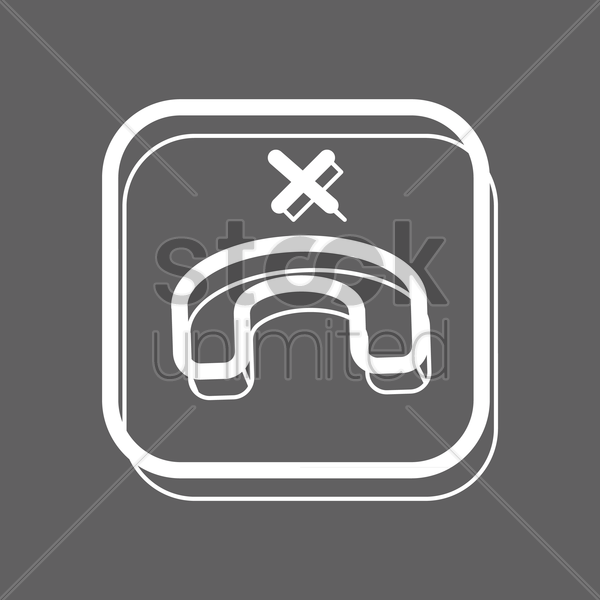 end call icon vector graphic