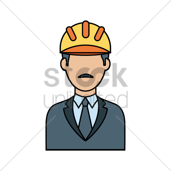 engineer vector graphic