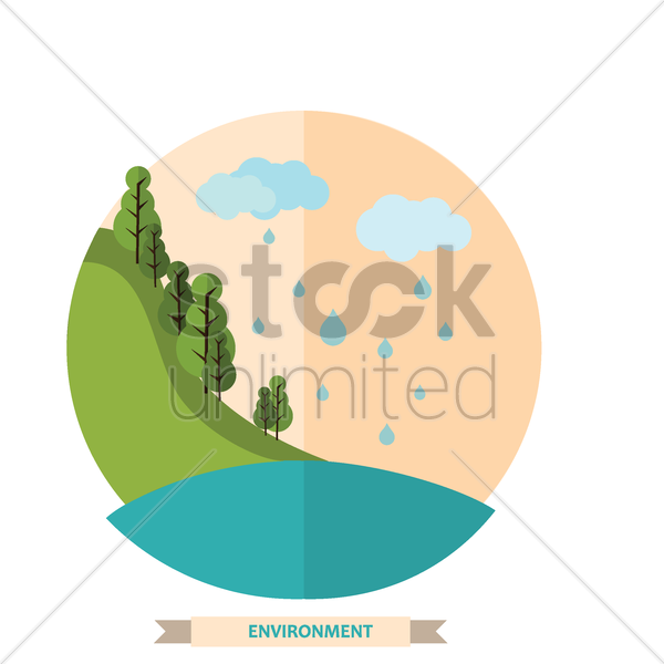 environment vector graphic