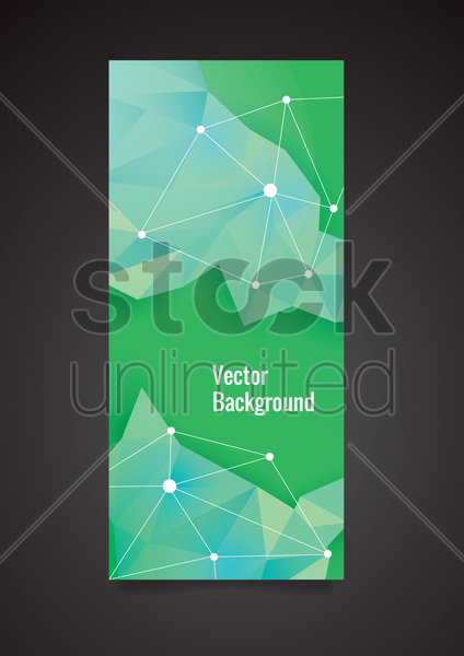 Free faceted background vector graphic