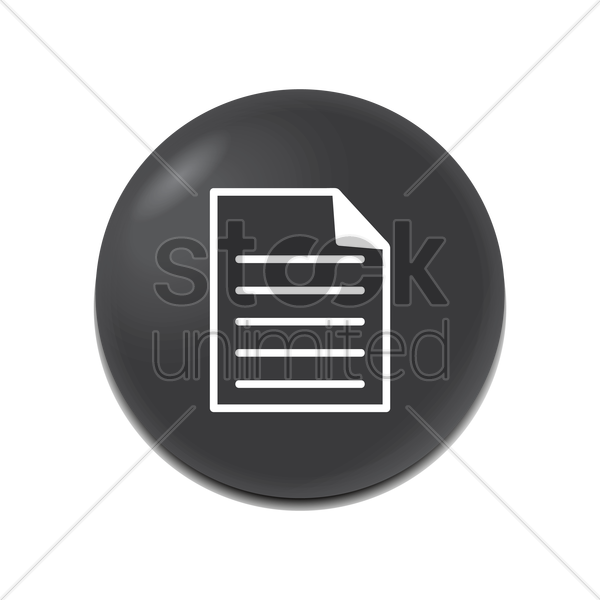 file icon vector graphic