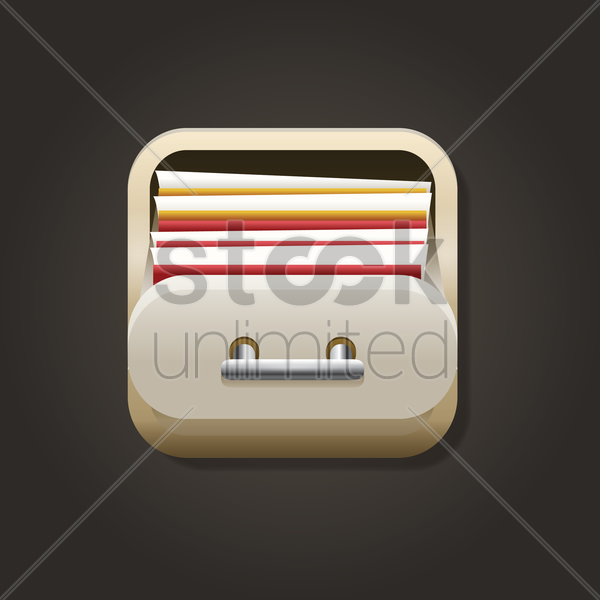 file manager icon vector graphic