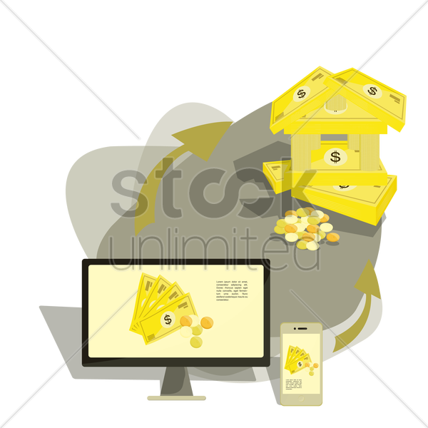 finance banking vector graphic