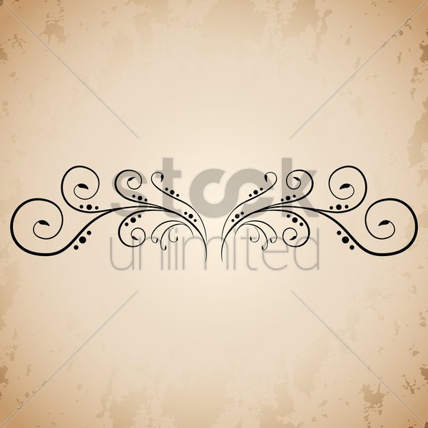 floral design vector graphic