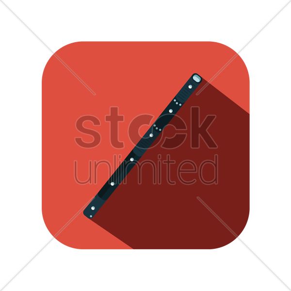 flute vector graphic