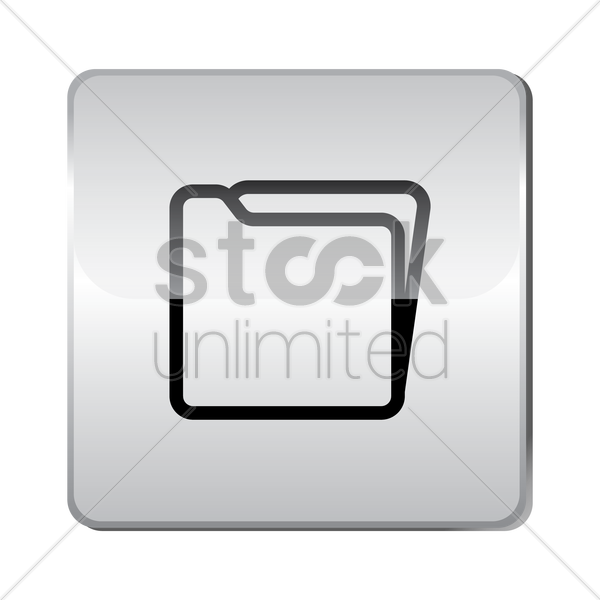 folder icon vector graphic