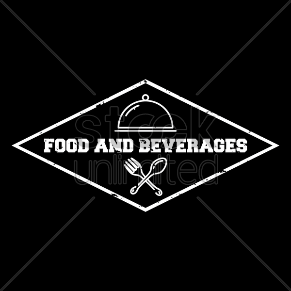 food and beverages wallpaper vector graphic
