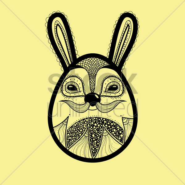 funny animal design vector graphic