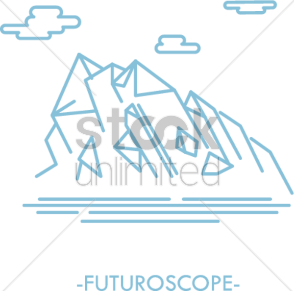 futuroscope vector graphic