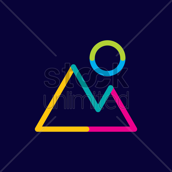 gallery icon vector graphic