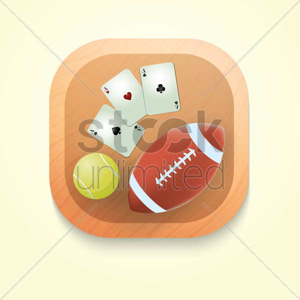 games icon vector graphic
