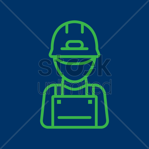 gardener vector graphic