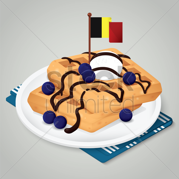 gaufre vector graphic