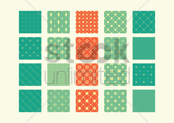 geometric backgrounds vector graphic