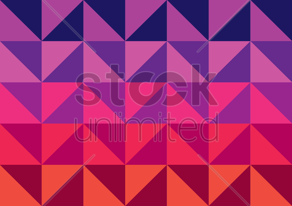 gradient triangle pattern vector graphic